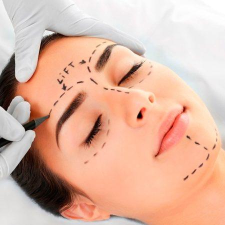 Técnicas de aplicación de relleno facial y área temporal